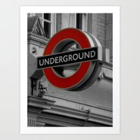 velvet underground Art Prints featuring Underground by itsthezoe