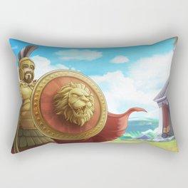 Ancient Armory Rectangular Pillow
