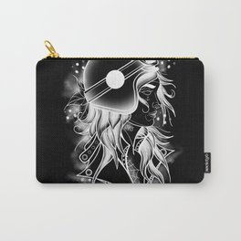 Bike girl Carry-All Pouch