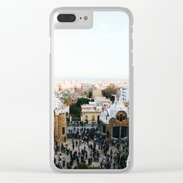 View from Park Güell Clear iPhone Case
