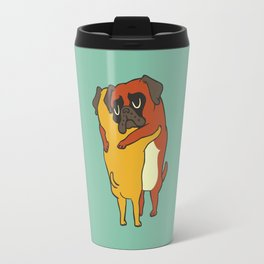 Boxer  Hugs Travel Mug