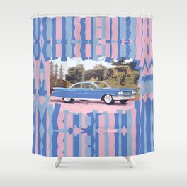 Cadillac Coupe De Ville, 1960 Shower Curtain