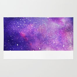 Space Nebula Galaxy Stars Rug