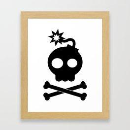 Head Bang! Framed Art Print