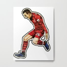 Robbo Celebration Metal Print