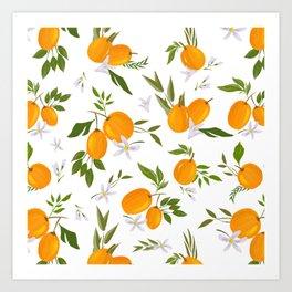 Kumquat Art Print