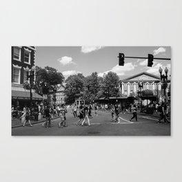 Harvard Square Canvas Print