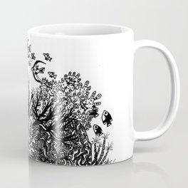 Coral Circle Coffee Mug