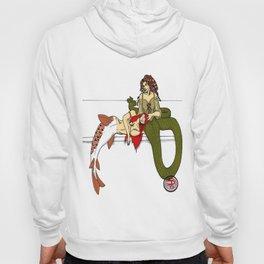 Medusa and the Mermaid (Darrell Merrill) Hoody