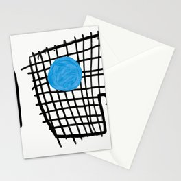 a graphic montage Stationery Cards