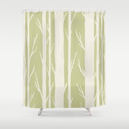 The Greenwood Shower Curtain