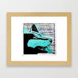 Beowulf, Bear Wolf Framed Art Print