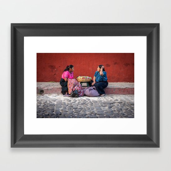 Mercado  Framed Art Print