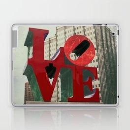 Love Sign Philadelphia Laptop & iPad Skin