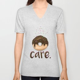 Donut Care Unisex V-Neck
