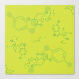 serotonin leaves Canvas Print