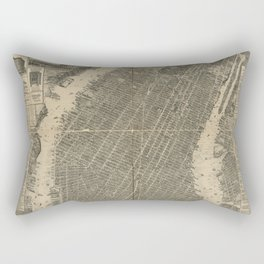 New York 1879 Rectangular Pillow