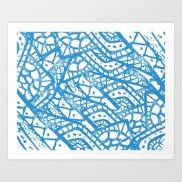 patern again Art Print