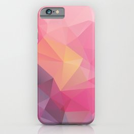 Abstract Graphic Modern Pattern Nice Nature Colorful Background iPhone Case