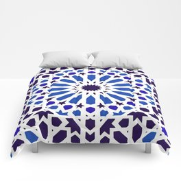 -A18- Original Traditional Moroccan Tile Design. Comforters