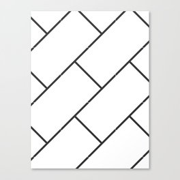 Subway Tiles Canvas Print