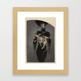 Monster Kitty Framed Art Print