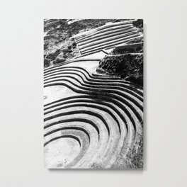 Moray Inca Archaeological Site Metal Print