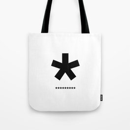 Helvetica Typoster #3 Tote Bag
