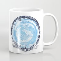 cities Mugs featuring Paronamic NZ by MARIA BOZINA - PRINT
