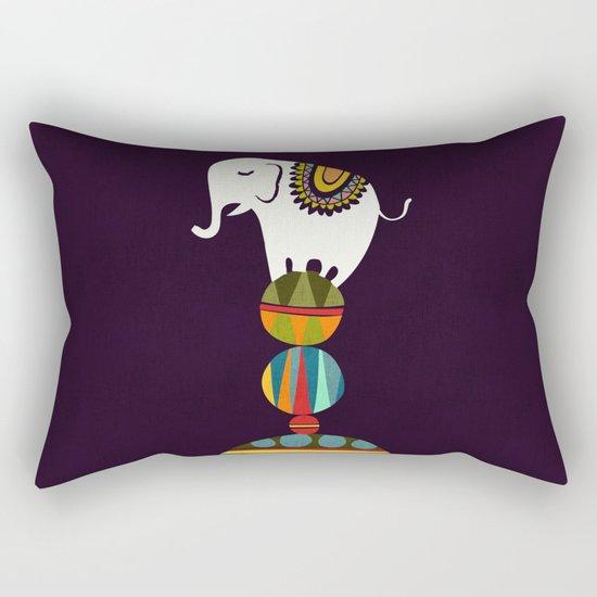 Elephant Circus Rectangular Pillow