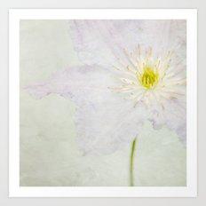 A FLOWER I Art Print