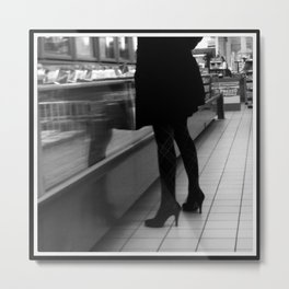 Indecision In Style Metal Print