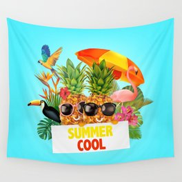Summer Cool Wall Tapestry