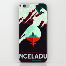 Vintage poster -Enceladus iPhone Skin
