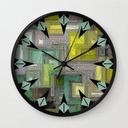 Accentuating Imperfection Wall Clock