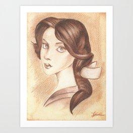 Bonjour, Elizabeth Art Print
