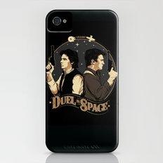 Duel in Space iPhone (4, 4s) Slim Case