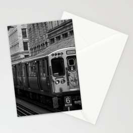 Green Line Stationery Cards