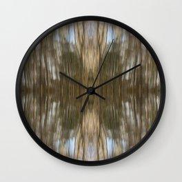 Cape Elizabeth Land Trust Trees Wall Clock