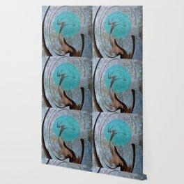 Turquoise Moon Wallpaper