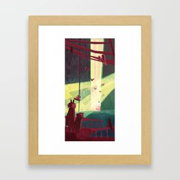 Unexpected Signs! Framed Art Print