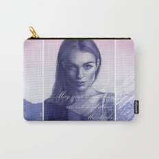 A song to the mountains Carry-All Pouch