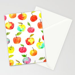 Spring apples Stationery Cards