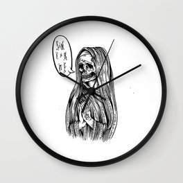 sin for me Wall Clock