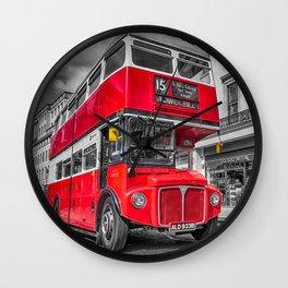 London Routemaster 15 Wall Clock