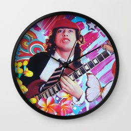 Angus Young Wall Clock