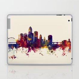 Des Moines Iowa Skyline Laptop & iPad Skin
