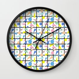 Postmodern Fish Wall Clock