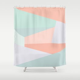 Facets Shower Curtain