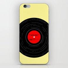 Born to Run- Bruce Springsteen Vinyl iPhone & iPod Skin